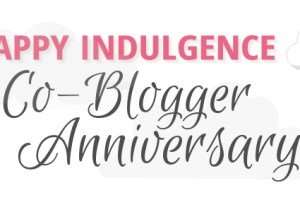 Giveaway & Celebration: 1 Year of Happy Co-Blogging