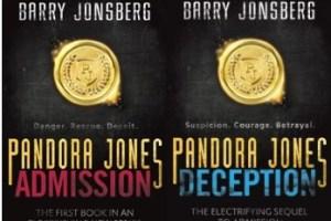Series Review: Pandora Jones Admission & Deception by Barry Jonsberg