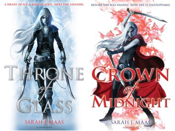 Throne of Glass & Crown of Midnight by Sarah J. Maas Review: Best love triangle ever