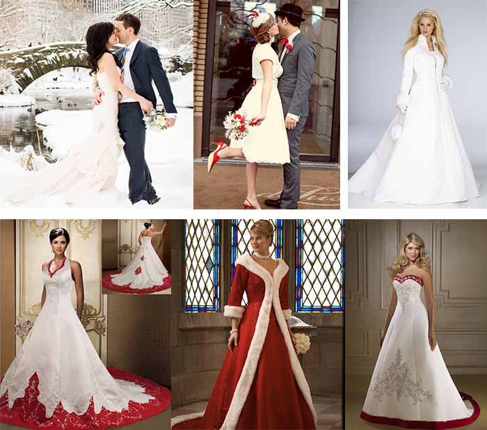 Christmas Wedding Dresses
