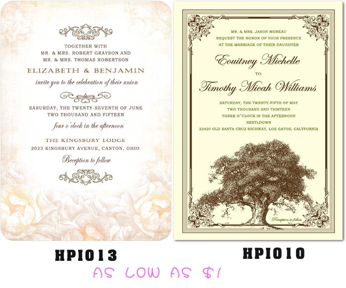 Meval Wedding Invitations