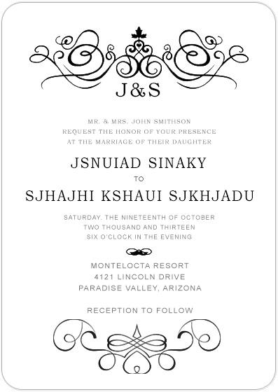 Ethnic And Religious Wedding Invitations Destination
