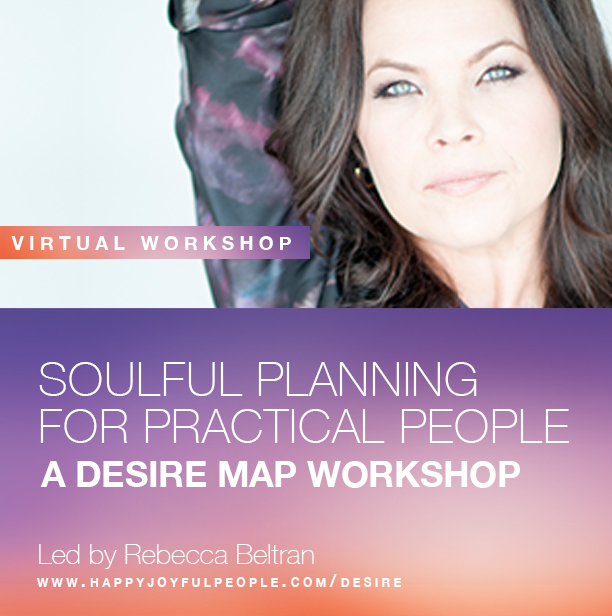 The Desire Map Online Virtual 6 week Series - Thursday nights, 7-9pm PST - starting October 13th, 2016
