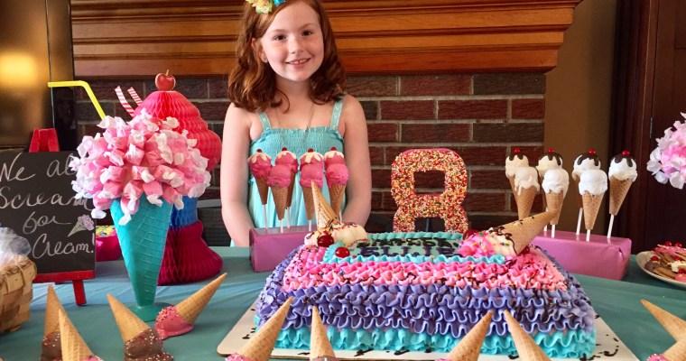 Ellie's Amazing Ice Cream Party!