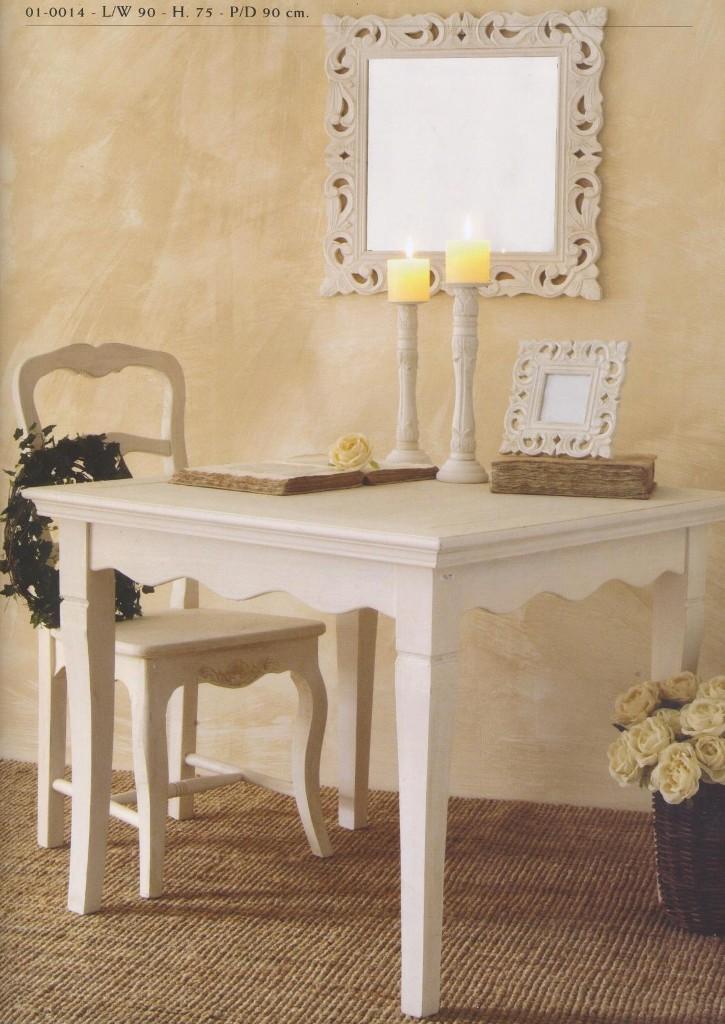 Mobili Provenzali country rustici bianchi serie Provence  Luxe Lodge