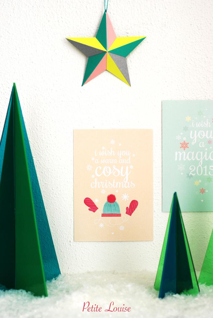 Kerstkaarten Countdown Petit Louise