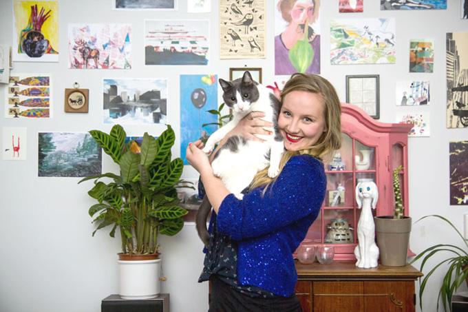 Kirsten Zuiderbaan Portret