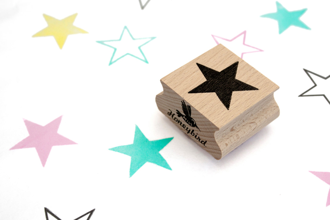MissHoneybird Stamps Stars