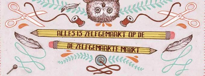 zelfgemaakte markt