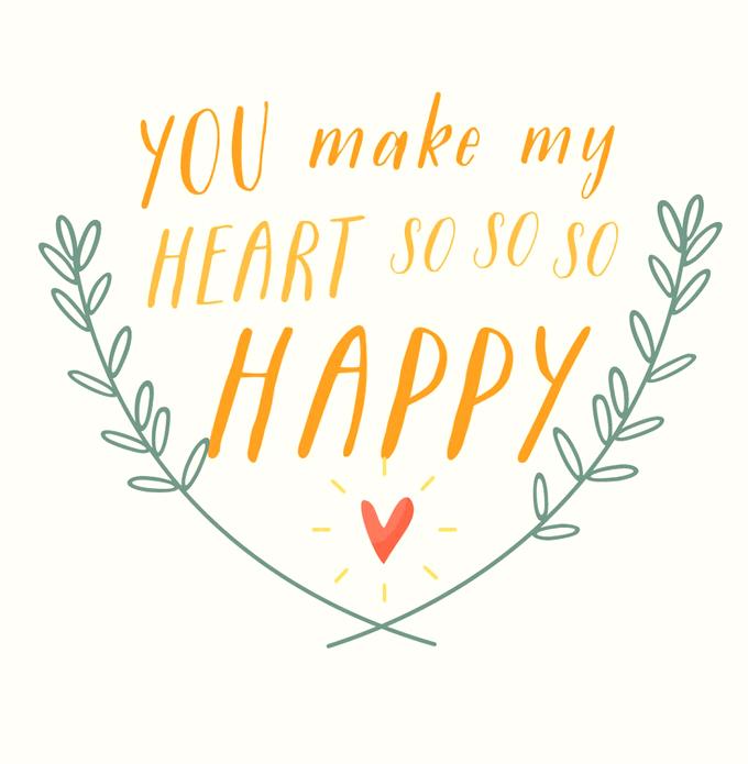 Valentijn Happy