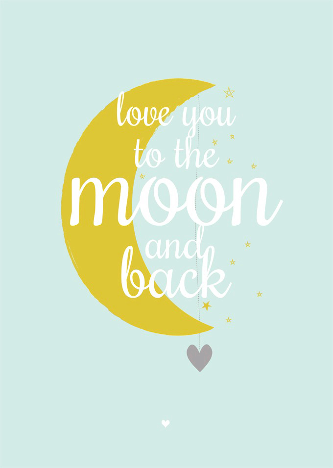 MOON AND BACK - MINT A3_A