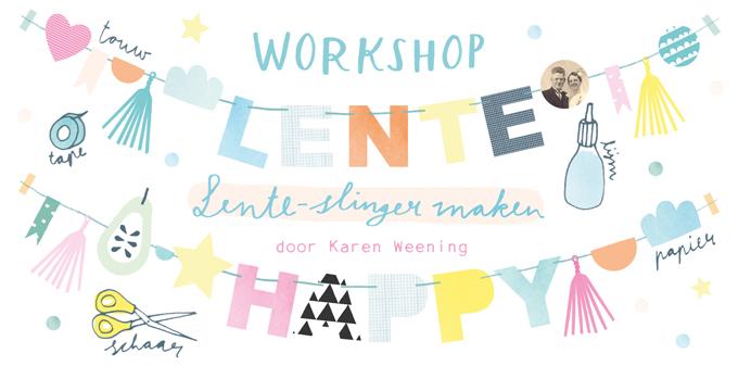 Workshop Karen Weening Lenteslinger