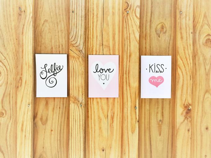 Selfie Love Kiss Cards HappyMakersBlog