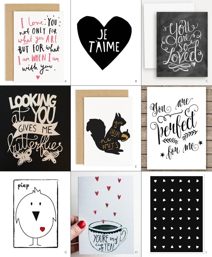 HappyValentineWeek Shopping Valentijnskaarten