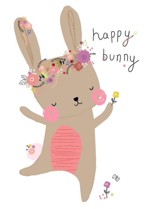 Alles Baylis Happy Bunny