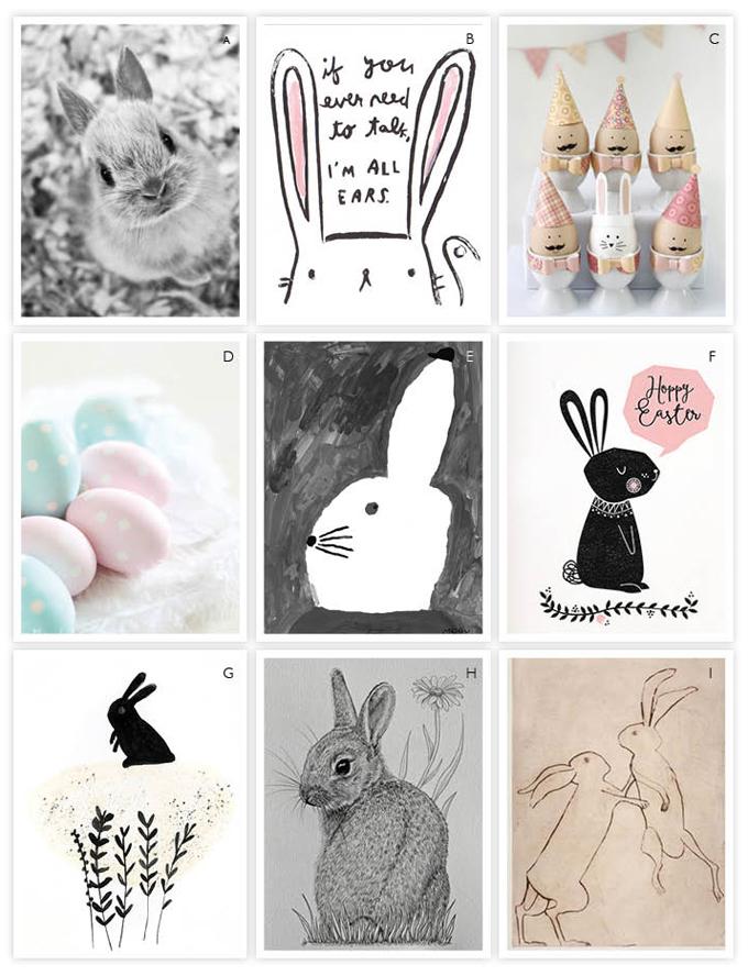 Easter illustrations Neutrals PETJE