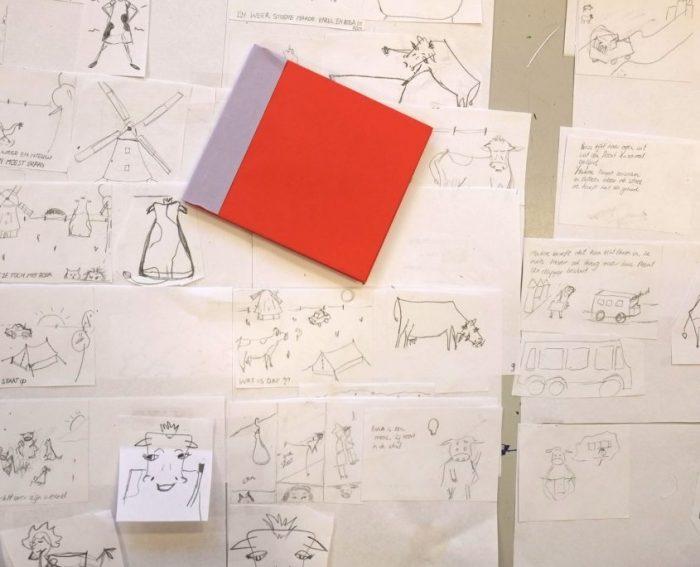 Boeken illustreren Ellen Vesters workshop Immerurlaub HappyMakersblog