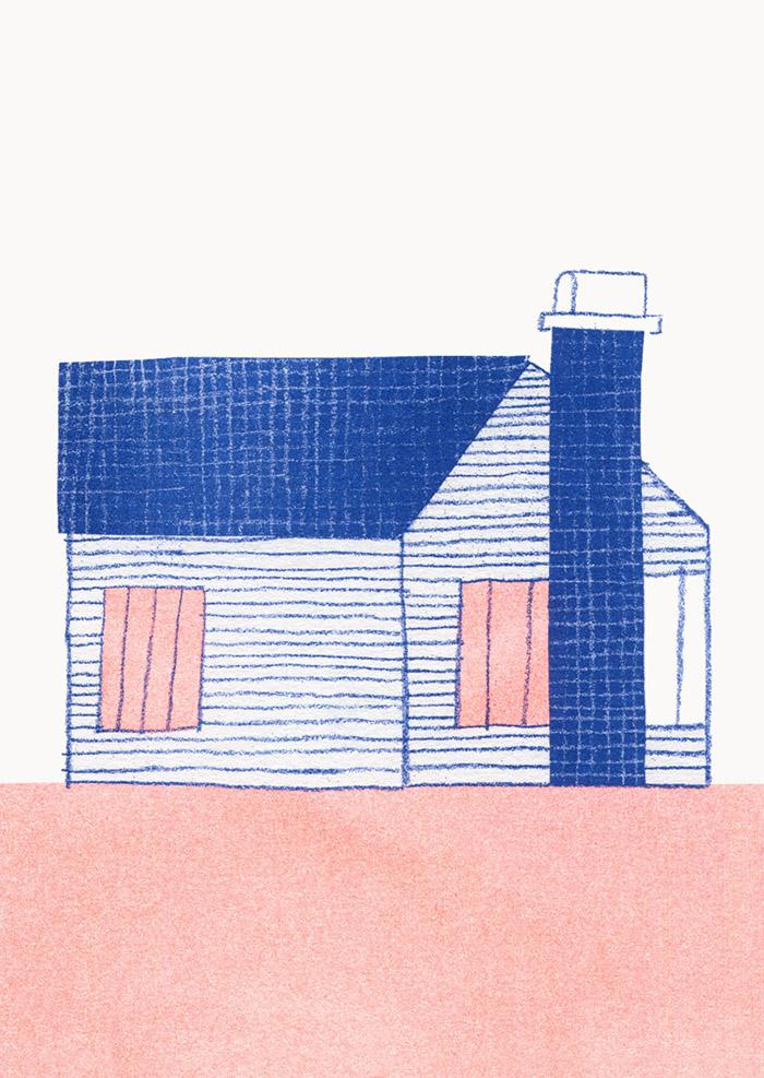 Maria Midttun HappyMakersBlog house