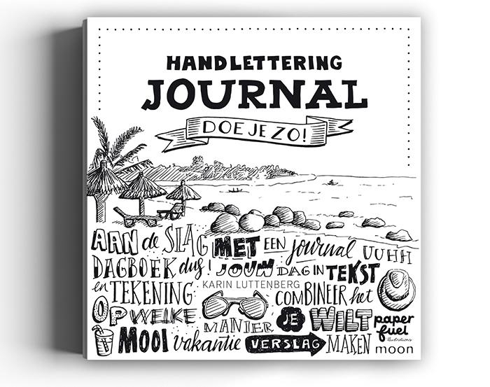 Aan de tekentafel Paperfuel Handlettering Journal HappyMakersBlog <
