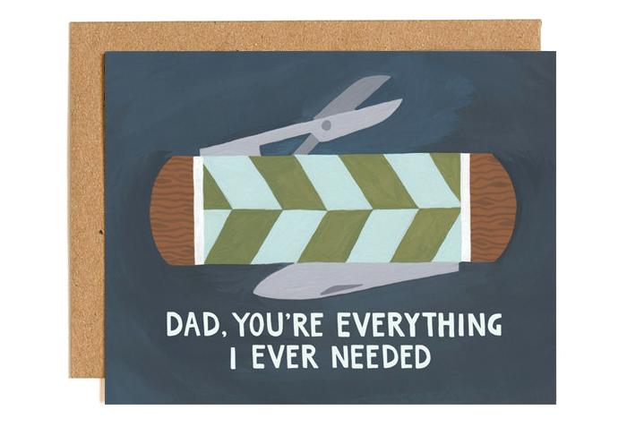 1canoe2 fathersday vaderdag kaart
