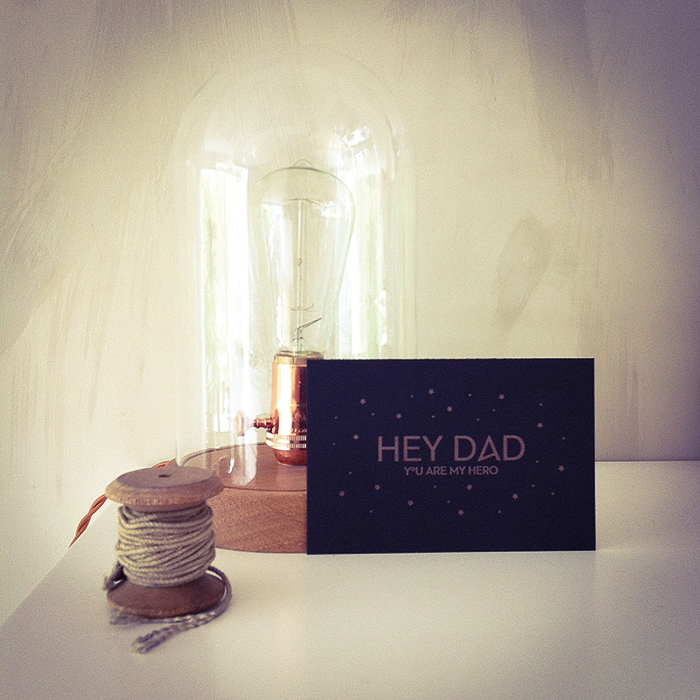 Letterpers fathersday vaderdag kaart