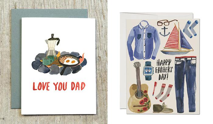 LittleTruthsStudio redcapcards fathersday vaderdag kaart