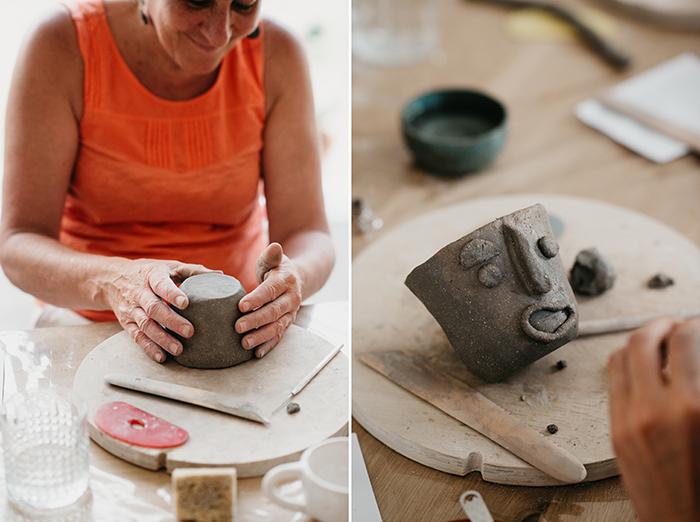 Kleien kopjes maken Workshop HelenB HappyMakersBlog