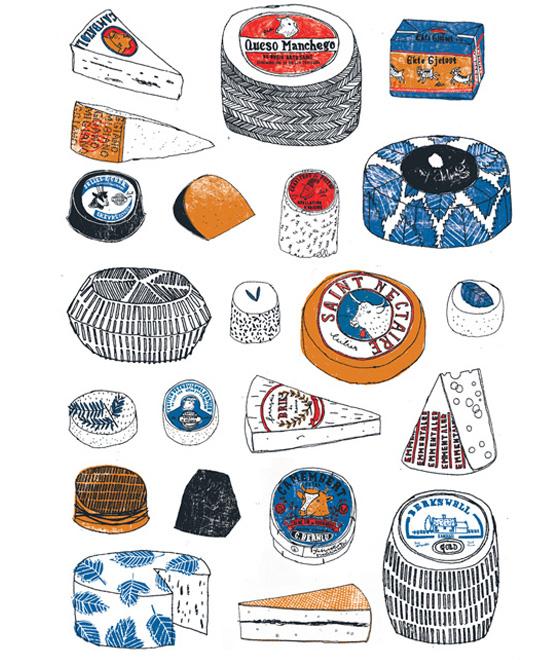 Frankrijk illustraties French illustration