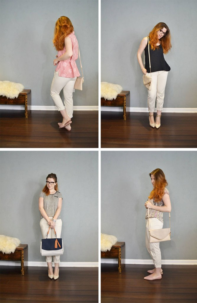 one pant four ways to wear