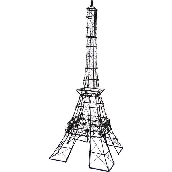 25H Wire Eiffel Tower Centerpiece