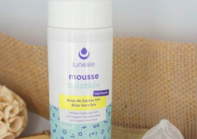 mousse culotee hygiene intime bio luneale