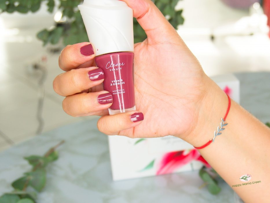 vernis porté 2 Clever beauty doux good noel