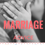 Marriage Advice from a Marriage and Family Therapist's wife