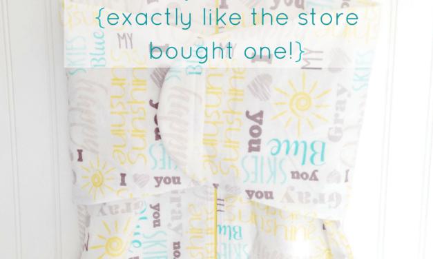 DIY Baby Sleep Sack with Pattern!