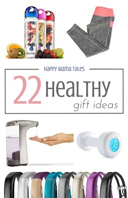 22 healthy gift ideas! Give the gift of Healthy Living! Oooh this is a fun list of gift ideas! Love #18!!