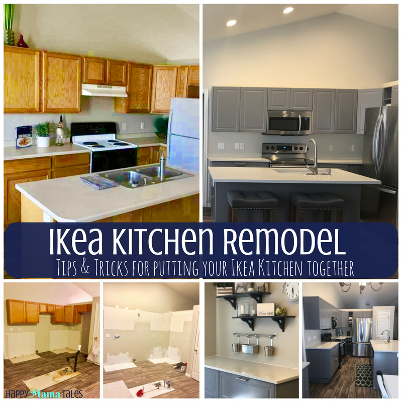 Review of Ikea Kitchen Cabinets - Happy Mama Tales