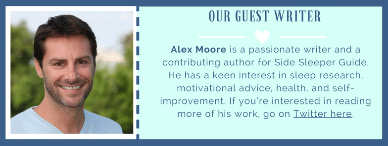 Alex Moore explains the benefits of side sleeping for pregnant women! You'll be surprised as to what they are!