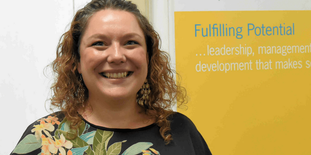 Michelle Hill at the 2017 Happy Workplaces CEO Conference