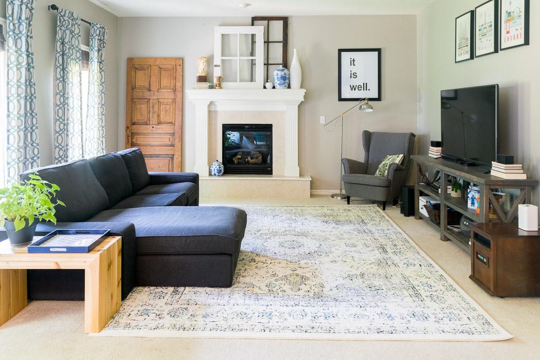 Living Room Update  HappyMeetsHome