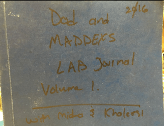 Lab Journal cover