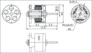 Happymodel SE0603 KV16000 19000 brushless motor 1S POWER