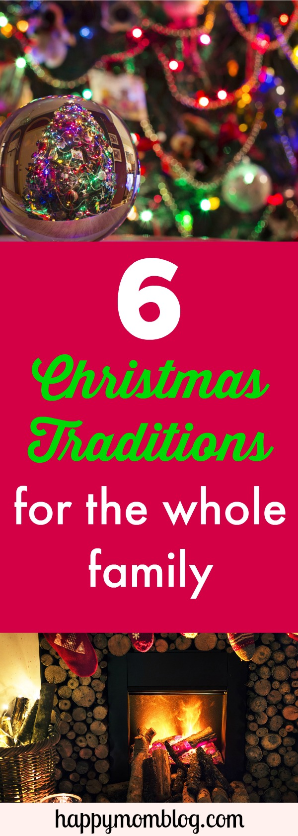 Christmas is a special time to make memories with the family. Why not start a new family tradition? Check out 6 fun traditions you can start with the family!