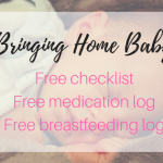 How to Manage it All After Having Baby with My Free Postpartum Organizational Worksheet