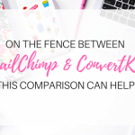 Can't decide between MailChimp and ConvertKit? This will help!