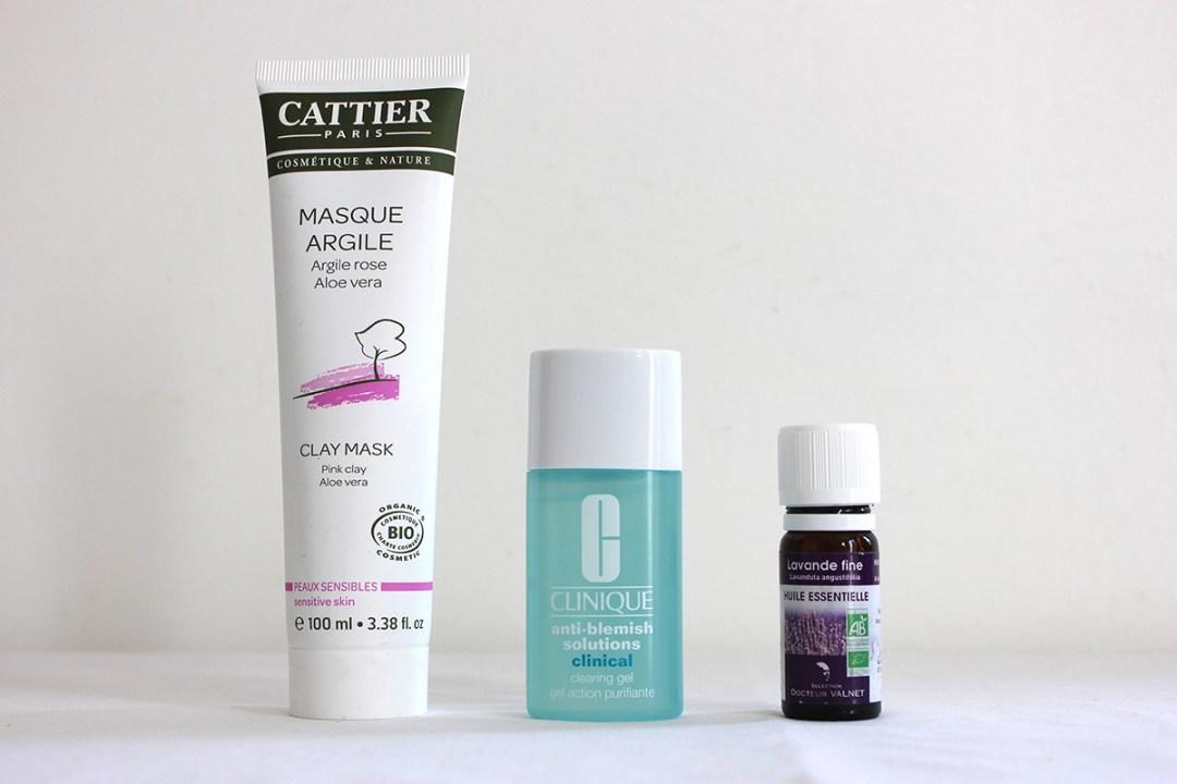 Routine-beauté-Cattier-Clinique-huile-essentielle-lavande