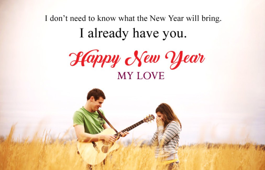 Cute Happy New Year 2021 Wishes for Lover, New Year Wishes for Someone  Special - Happy New Year 2021