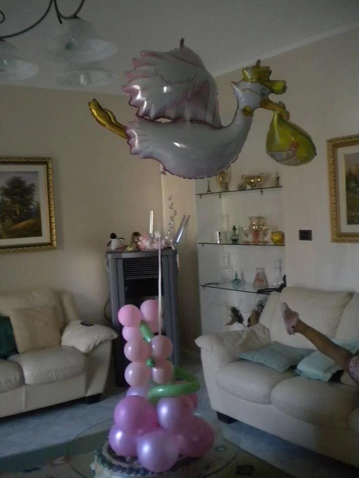 Palloncini per la Nascita decorazioni allestimenti Happy Party