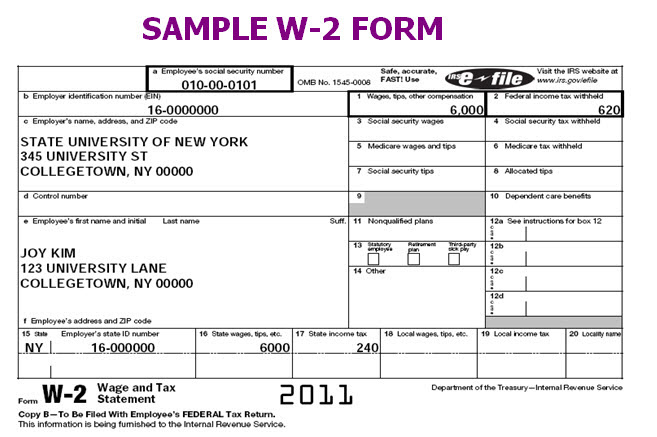 sample of w2 form  Employer Form W 12 | Job Application Sample