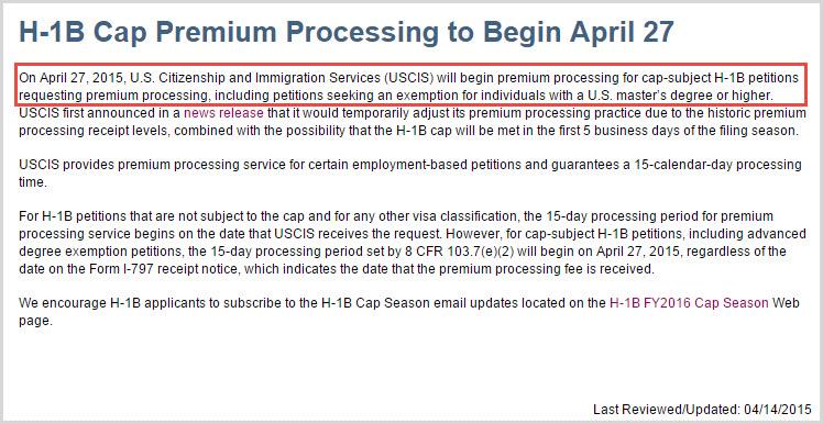 H1b Visa Premium Processing - Resume Examples   Resume Template