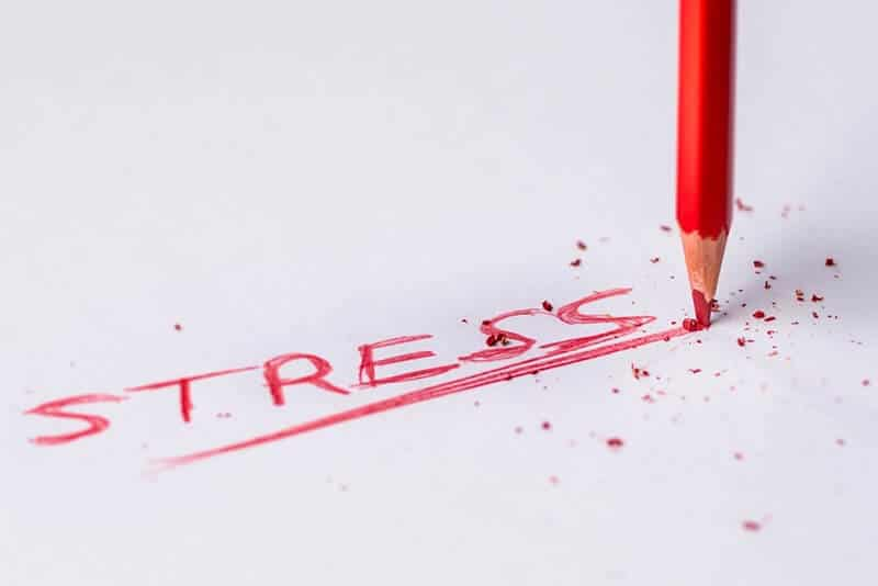Reduce your stress by simplifying your life.
